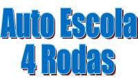Logo de Auto Escola 4 Rodas em Cruzeiro Velho