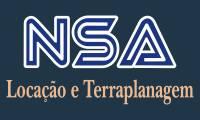 logo da empresa NSA Locaçâo e Terraplenagem - Serviços de Asfalto e Pavimentação