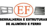 Logo de E F Serralheria, Ferro e Alumínio