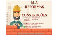 Logo M.A Construções E Reformas