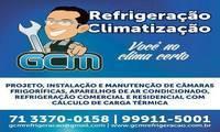 Logo de Gcm Serviços de Refrigeraçao em Tancredo Neves