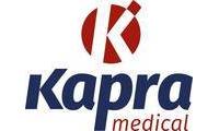 Logo de Kapra Medical em Cristal