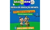 Logo de Escola Brasileirinho em Riacho Fundo II