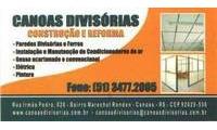 Logo de Canoas Divisórias em Marechal Rondon