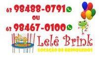 Logo de Lelê Brink Locação de Pula-Pula