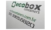 Logo de Ecobox Containers em Parque Santa Fé