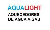 Logo de AQUALIGHT Aquecedores a Gás Curitiba - KOMECO - BOSCH - LORENZETTI - RINNAI - OR em Centro