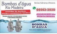 Logo de Bombas D`Água Rio Madeira em Porto Velho-Ro em São Francisco