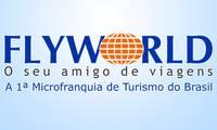 Logo de Flyworld Viagens - Florianópolis Trindade em Itacorubi