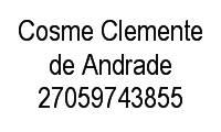 Logo de Cosme Clemente de Andrade em Santa Efigênia