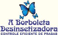 Logo de A Borboleta Desinsetizadora - Serviços de Dedetização, Desratização e Descupinização