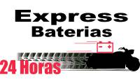 Logo de Express Baterias em Torre