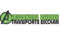 Logo de Alessandro Duarte Transporte Escolar
