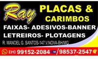 Logo de Artes Ray Placas E Carimbos em Piratininga (Venda Nova)