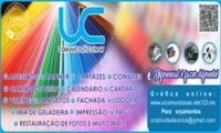 Logo UC COMUNICAÇÃO VISUAL (Lj online)