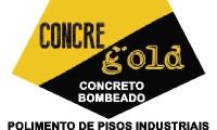 Logo de Concre Gold Concreto Bombeado - Serviços de Bombeamento de Concreto
