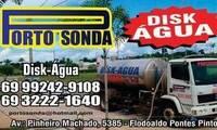 Logo de PORTO SONDA DISK ÁGUA em Flodoaldo Pontes Pinto