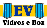 Logo de EV Vidros e Box