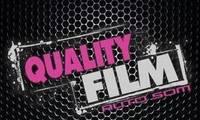 Logo de Quality Film em Ingleses do Rio Vermelho