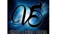 Logo de VS Esquadrias de Alumínio em Jacarepaguá