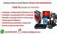 Logo de Assistência Técnica em Informática - Insidetec em Centro