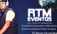 Logo de Rtm Eventos Dj Som Iluminação em Vila Roque