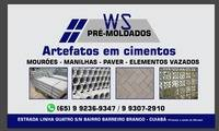 Logo de Ws pré moldados