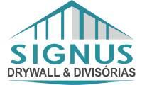 logo da empresa Signus Divisórias & Gesso Drywall