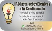 Logo de IRC Instalação Elétrica E Ar Condicionado em Morumbi