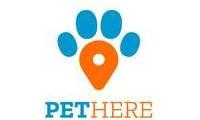 Logo de Pet Here em Centro