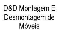 Logo D&D Montagem E Desmontagem de Móveis