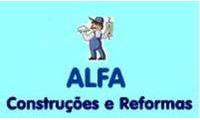 Logo de Alfa Construções e Reformas