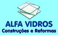Logo de Alfa Vidros Vidraçaria - Box Para Banheiro, Espelhos e Fechamento de Sacadas