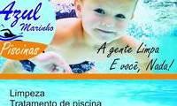 Logo Azul Marinho Piscinas - Limpeza de sua piscina