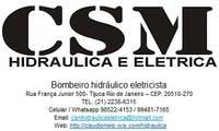 Logo de Csm Hidraulica e Eletricidade em Andaraí