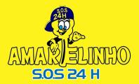 Chaveiro Amarelinho SOS 24 Horas