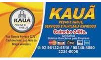 Logo de Kauã Peças e Pneus - Guincho 24h em Praça 14 de Janeiro