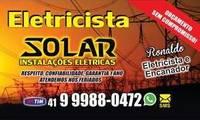 Logo de Solar - Instalações Elétricas em Boqueirão