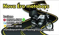 Logo de Empresa Nova era motoboys em Auxiliadora