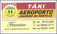 Chico - Táxi - Aeroporto 24hs