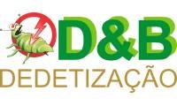 Logo de D&B Dedetização em Cupecê